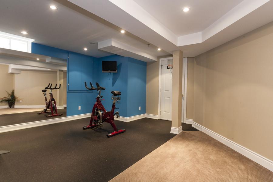 Basement Gym/Recreation area