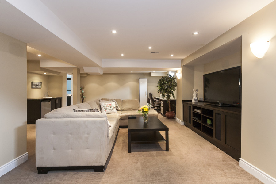 Basement Recreation Room and Family room